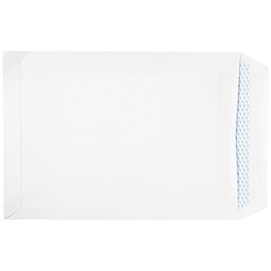 Image of 5 Star Eco C4 Pocket Envelopes / White / Press Seal / 100gsm / Pack of 250