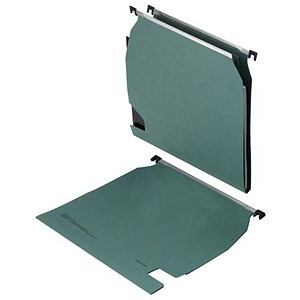 Image of 5 Star Lateral Files / 15mm V Base / A4 / Green / Pack of 25