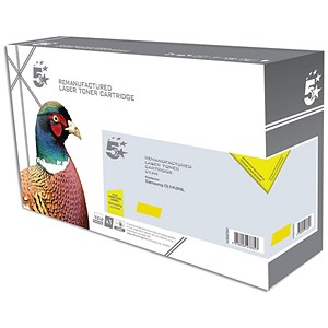 Image of 5 Star Compatible - Alternative to Samsung CLT-Y506L Yellow Laser Toner Cartridge
