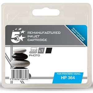 Image of 5 Star Compatible - Alternative to HP364 Photo Black Inkjet Cartridge