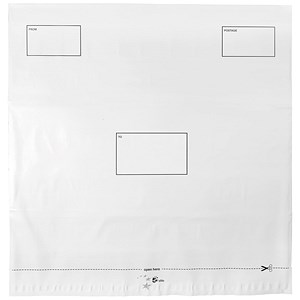 Image of 5 Star DX Envelopes / Self-seal / Waterproof / 475x440mm / White / Pack of 100