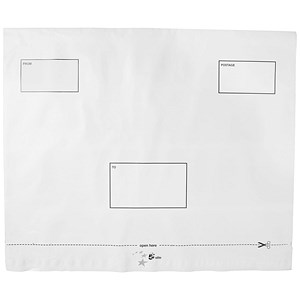 Image of 5 Star DX Envelopes / Self-seal / Waterproof / 455x330mm / White / Box of 100