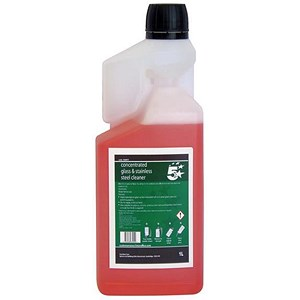 Image of 5 Star Concentrated Glass and Steel Cleaner 1L