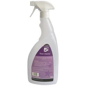 Image of 5 Star Empty Bottle for Concentrated Floor Cleaner Lemon 750ml