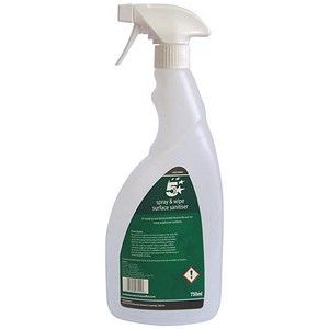 Image of 5 Star Empty Bottle for Concentrated Surface Sanitiser 750ml