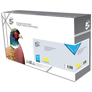 Image of 5 Star Compatible - Alternative to HP 312A Yellow Laser Toner Cartridge