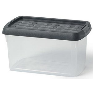Image of 5 Star Clip Box / Clear / 1.5 Litre