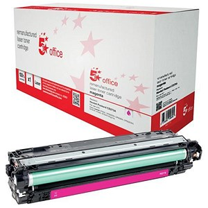 Image of 5 Star Compatible - Alternative to HP 650A Magenta Laser Toner Cartridge