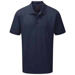 Image of 5 Star Premium Polo Shirt / Triple Stitched / Navy / XS