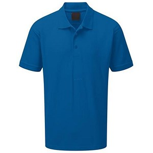 Image of Premium Polo Shirt / Triple Stitched / Royal Blue / Small