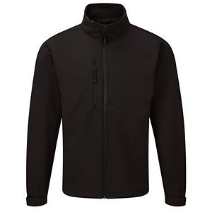 Image of 5 Star Soft Shell Jacket / Water Resistant / Breathable / XXXL / Black