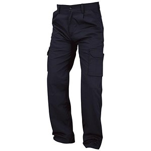 Image of Kneepad Combat Trousers / Waist: 50in, Leg: 32in / Navy