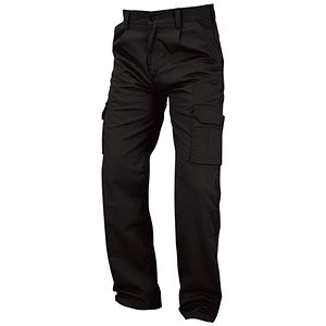 Image of 5 Star Kneepad Combat Trousers / Waist: 42in, Leg: 29in / Black