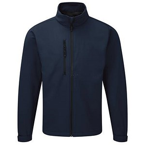 Image of Soft Shell Jacket / Water Resistant / Breathable / Large / Navy
