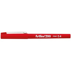 Image of Artline 200 Fineliner - Red