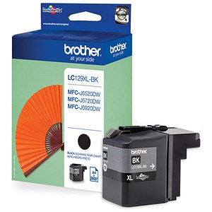Image of Brother LC129BK High Yield Black Inkjet Cartridge