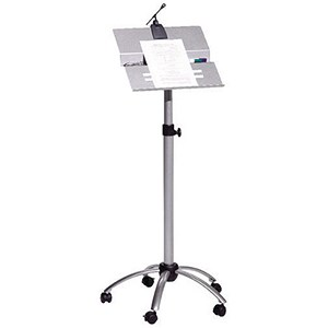 Image of Bi-Office Mobile Lectern / W615xD175xH900mm / Silver