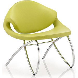 Image of Beau Visitor Chair - Green