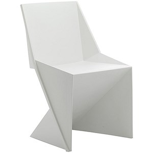 Image of Freedom Polypropylene Visitor Stacking Chair - White
