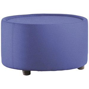 Image of Neo Fabric Round Table - Blue