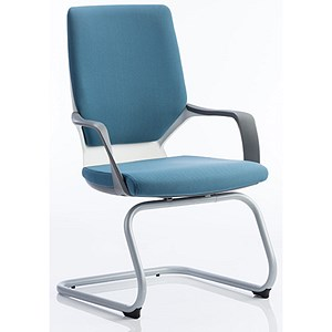 Image of Zenon Fabric Visitor Chair - Blue