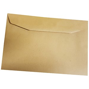 Image of 5 Star Manilla C6 Envelopes / Gummed / 80gsm / Pack of 2000
