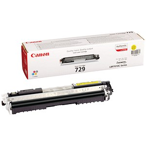 Image of Canon 729 Yellow Laser Toner Cartridge