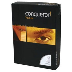 Image of Conqueror Finely Ridged Laid A4 Paper / Cream /100gsm / Ream (500 Sheets)