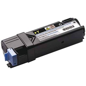 Image of Dell 2150/2155 Yellow Laser Toner Cartridge