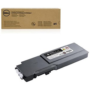 Image of Dell C3760/C3765 High Yield Black Laser Toner Cartridge