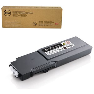 Image of Dell C3760/C3765 High Yield Magenta Laser Toner Cartridge