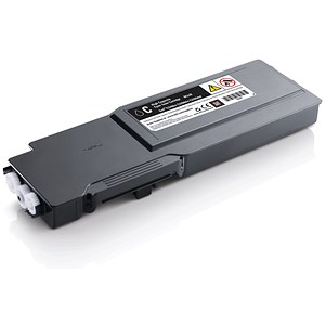 Image of Dell C3760/C3765 High Yield Cyan Laser Toner Cartridge