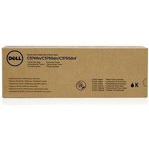 Image of Dell C3760/C3765 Extra High Yield Black Laser Toner Cartridge