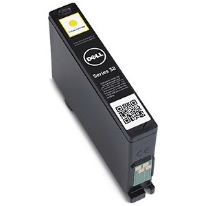 Image of Dell Series 32 High Yield Yellow Inkjet Cartridge