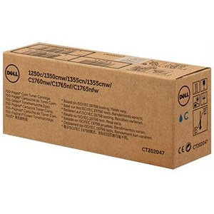Image of Dell 593-11145 Cyan Laser Toner Cartridge