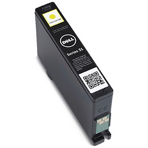 Image of Dell Series 31 Yellow Inkjet Cartridge