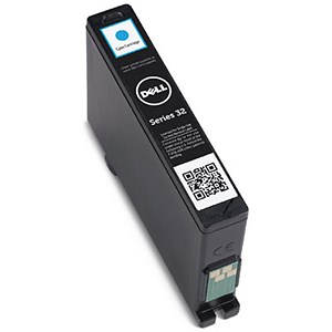 Image of Dell Series 32 High Yield Cyan Inkjet Cartridge