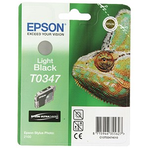 Image of Epson T0347 Light Black UltraChrome Inkjet Cartridge