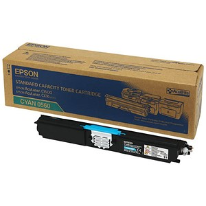 Image of Epson AcuLaser C1600/CX16 Cyan Laser Toner Cartridge
