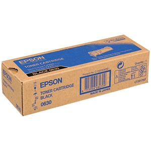 Image of Epson AcuLaser C2900N Black Laser Toner Cartridge