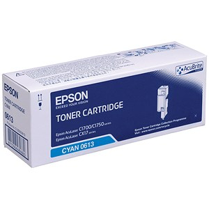 Image of Epson AcuLaser C1700 High Yield Cyan Laser Toner Cartridge