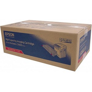 Image of Epson AcuLaser C3800 High Yield Magenta Laser Toner Cartridge
