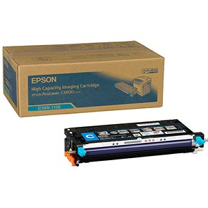 Image of Epson AcuLaser C3800 High Yield Cyan Laser Toner Cartridge