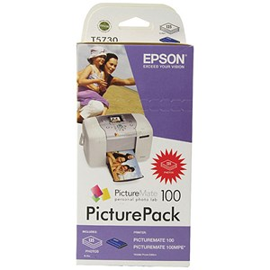 Image of Epson T5734 Picture Pack - Includes T5730 Photo Cartridge and Paper