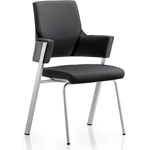 Image of Enterprise Visitor Chair - Black
