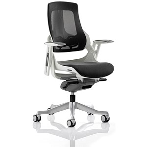 Image of Zure Executive Mesh Chair - Charcoal