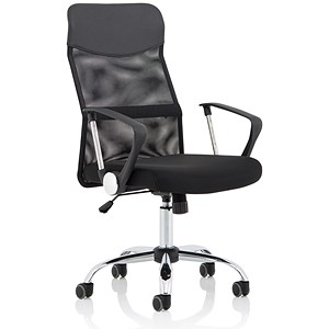 Image of Vegalite Executive Mesh Chair - Black