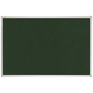 Image of Franken X-traLine Noticeboard / Felt / W2400xH1200mm / Green