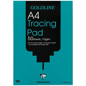 Image of Goldline Heavyweight Tracing Pad / A4 / 112gsm / 50 Sheets