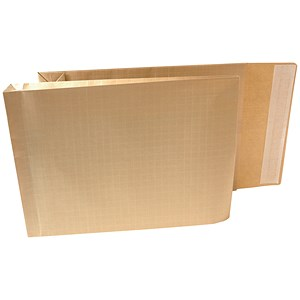 Image of New Guardian Armour Gusset Envelopes / 380x280mm / 50mm / Peel & Seal / Manilla / Pack of 100
